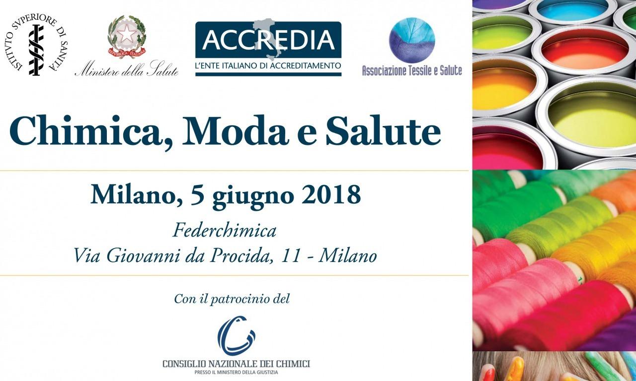 Convegno 'Chimica, Moda e Salute', 5 giugno 2018. Federchimica, Milano