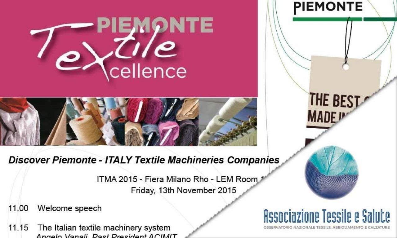 Tessile e Salute a ITMA 2015