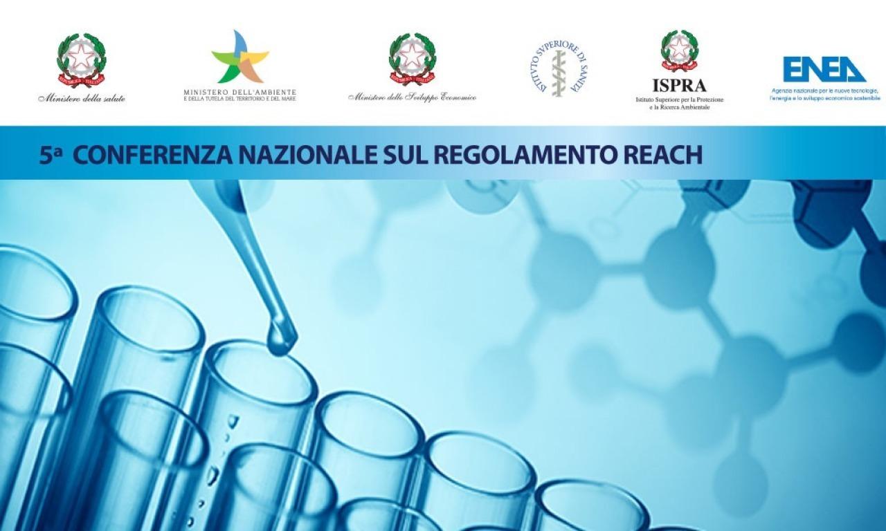 5ᵃ Conferenza nazionale sull'attuazione del Regolamento REACH